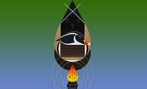 "Charley Harper • <a style=""font-size:0.8em;"" href=""http://www.flickr.com/photos/30735181@N00/4848325076/"" target=""_blank"">View on Flickr</a>"