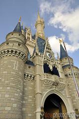Cinderella's Castle - Walt Disney World (dgwphotography) Tags: castle nikon magic kingdom disney 1870mmf3545g disneyworld cinderella nikkor wdw waltdisneyworld magickingdom cinderellascastle 1870 d90 nikond90