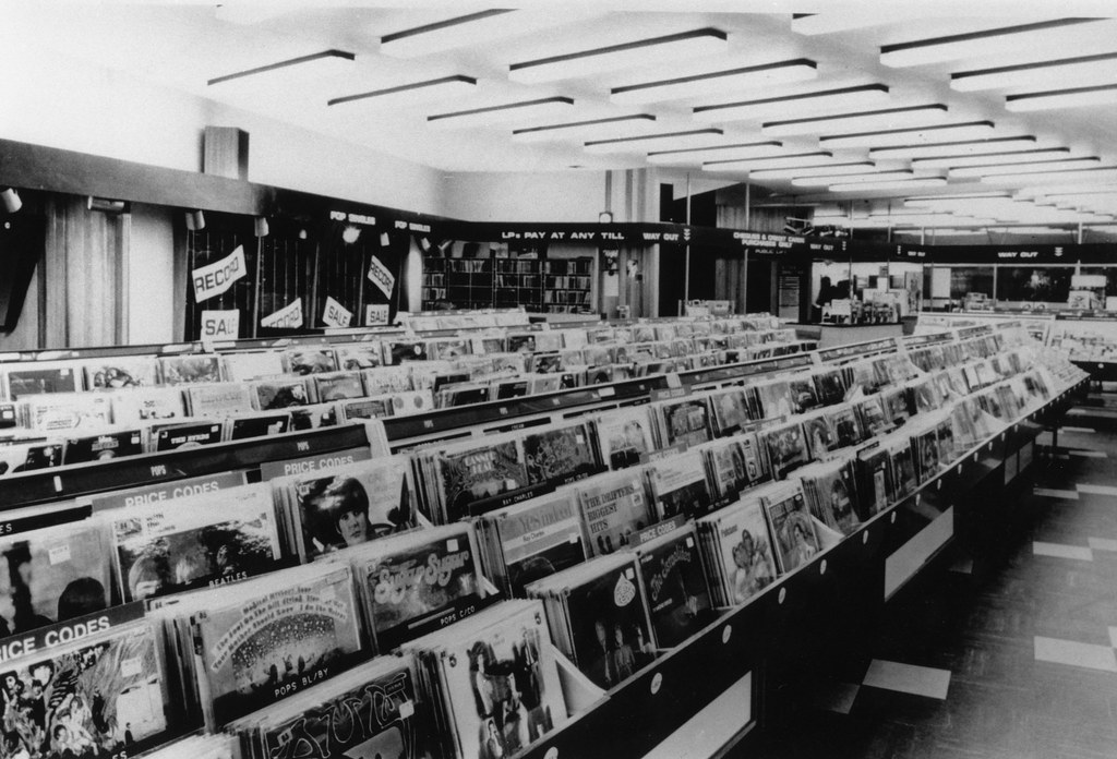 Inside The Oxford Street Hmv Store In The Sixties Page 3