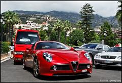 Alfa Romeo 8C Competizione (ThomvdN) Tags: nikon monaco thom alfa romeo carlo monte carphotography d60 8c competizione thomvdn