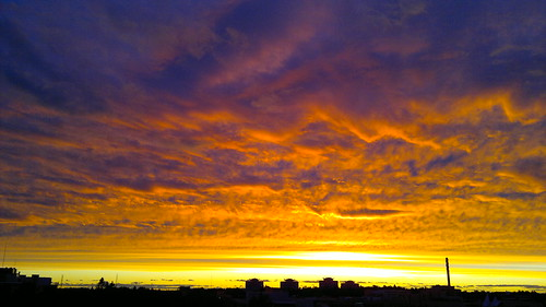 Sunset over Espoo