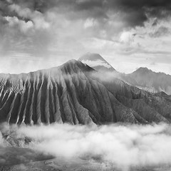 Morning Altitude (Hengki Koentjoro) Tags: sky cloud white mountain black beauty indonesia magic surreal highland bromo tengger