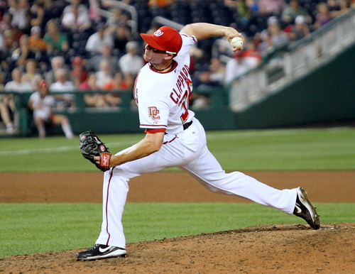 Tyler Clippard by Cheryl Nichols / Nationals News Network