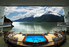 A Stern View (Bryan Salzman) Tags: cruise our alaska golden boat sailing ship princess board skagway boating stern cruises alaskan on