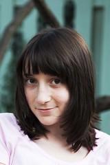 Back-to-School Hairdo (Cyrus Gordon) Tags: portrait children madeleine newhairstyle