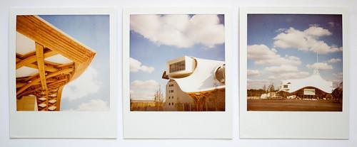 Triptyque Polaroid : Centre Pompidou Metz