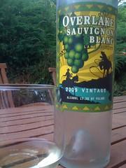 2009 Overlake Sauvignon Blanc