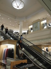 Lord & Taylor (King of Prussia Plaza) (Joe Architect) Tags: travel philadelphia retail mall pennsylvania escalator pa departmentstore philly 2010 lordandtaylor movingstairs kingofprussia kingofprussiamall