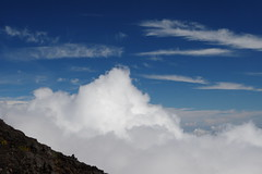 Mt. Fuji (satoson) Tags: mountain nature japan volcano mountainclimbing unescoworldheritagesite    shizuoka  yamanashi     mfuji canon30d   100   100famousjapanesemountains threeholymountains