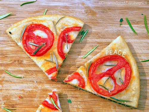 Tomato and Rosemary Focaccia Bread