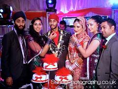 The happy couple (SunnyPhotography) Tags: uk wedding england asian temple photography photographer indian sony yorkshire leeds ceremony sunny sikh dsc waheguru sundeep t500 osahn