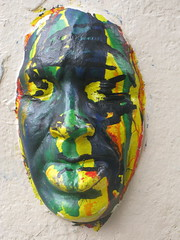 Paris, Gregos (Zerbi Hancok) Tags: france paris gregos streetart urbanart mask moulage face visage street walls murs boys art