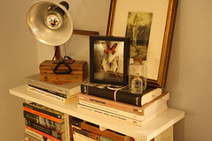 floating-shelf1 (GoodAfternoonan) Tags: apartment livingroom therapy apartmenttherapy antiquebottles apartmenttherapyny