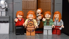 lego harry potter 2010 (Legoagogo) Tags: lego harry potter ron dobby 4841 ginny burrow fenrir weasley bellatrix 4738 hogworts 4737 4736 4840 4842