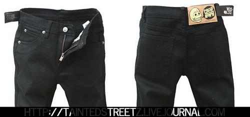 #11 Black basic jeans