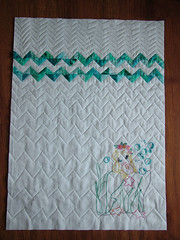 Mermaid all quilted 9-10