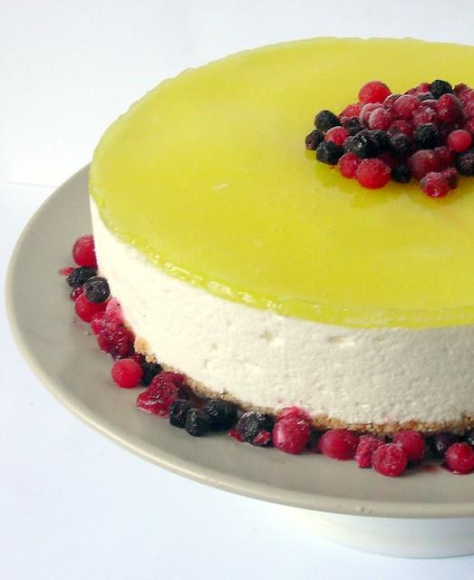 torta fresca al limone