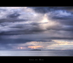 Isle of May (Kit Downey) Tags: uk sea seascape water colors clouds scotland colours eveningsun shoreline august explore goldenhour stormclouds fishingvillage rainclouds 2010 crail isleofmay latesummer scottishisland epicsky eastneukoffife scottishseascape scottishlandscape canon50mmf14usm explored crailharbour fifecoast scottishcoast scottishcoastline epicclouds kitdowney canoneos550d canont2i rebelt2i