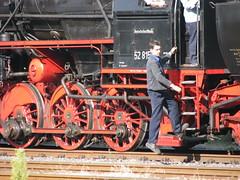 IMG_8980 (giver40 - Sergi) Tags: train locomotive vapor locomotora dampflok lok meiningen eisenbhan dampflokwerk dampfloktage