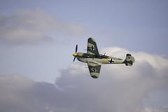 """Messermitch 109B """"Buchn"""" (Arsen.) Tags: airplanes airshow aviones battleofbritain duxfordairshow canon40d 70aniversariobatalladeinglaterra"""