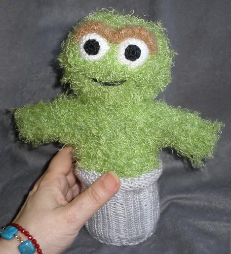 Oscar the Grouch Peep