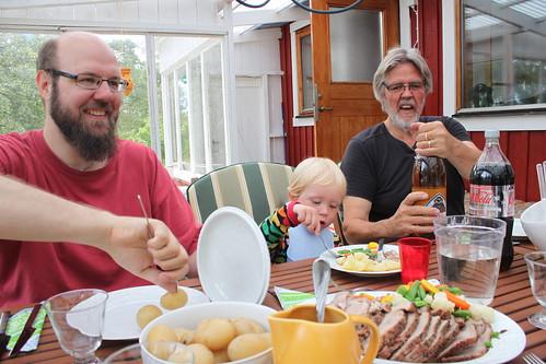 Fredrik, Gusten och Sylve
