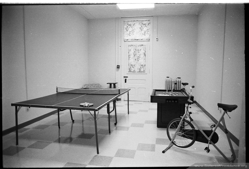 Providence Hall Exercise Room, 1984