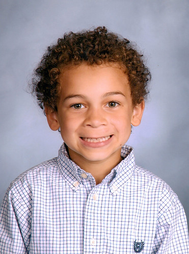 Aidan's First Grade Picture