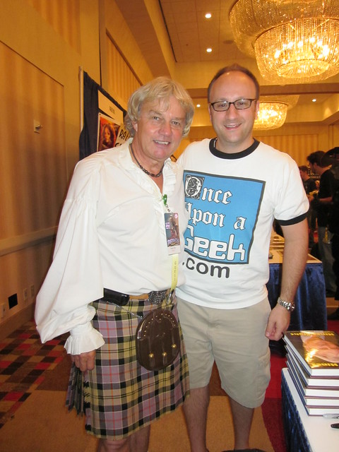 Frazier Hines (Jamie McCrimmon from Doctor Who) and Shag at Dragon*Con 2010