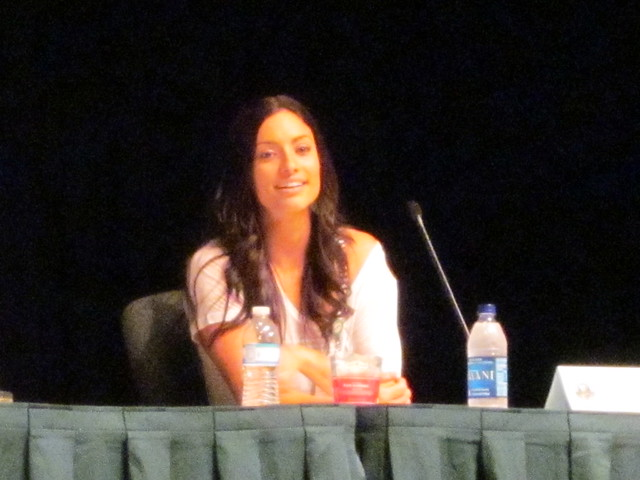 Eureka Panel with Erica Cerra (Jo Lupo) at Dragon*Con 2010