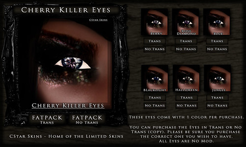.::CStar::. Cherry Killer Eyes