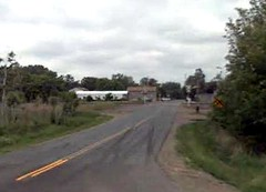 Bethel MN's rural Main St (via Google Earth)
