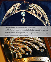 Rowena Ravenclaw's Diadem from Harry Potter and the Deathly Hallows Pt. II (bewitchthemind) Tags: film tom movie book harry potter jk riddle rowling hallows rowena voldemort diadem ravenclaw deathly horcrux