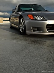different angle (RaCinRoOkiE88) Tags: sunset storm hardtop rooftop honda silver garage s2k acura s2000 jdm ap1 ap2