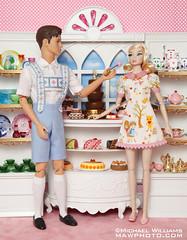 003f_PatisserieMisaki (MyLifeInPlastic.com) Tags: jason fashion shop toys monkey miniature doll dolls ken patisserie pastry nippon dolly rement wu pastries fr diorama squeaky integrity misaki