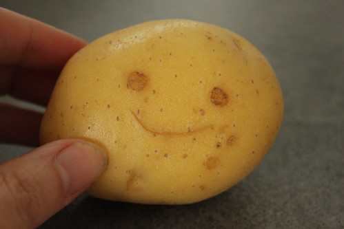 Sept 11/10 Happy face potato