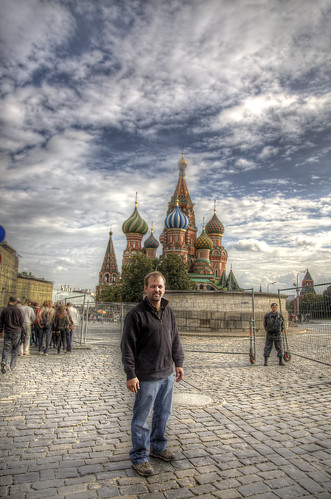 Steve in Red Square
