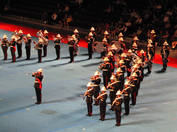 Canadian Navy Centennial Tattoo at Vancouver's PNE 2010