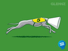 By a Nose T-shirt (Glennz Tees) Tags: greyhound art nerd fashion by illustration nose design funny geek drawing humor cartoon tshirt illustrator draw popculture tee vector ai apparel adobeillustrator glenz glennjones glenjones glennz gleenz glennnz