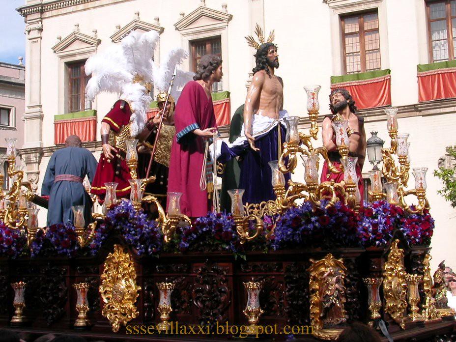 Nuestro Padre Jesús Despojado de sus Vestiduras, Domingo de Ramos 2004