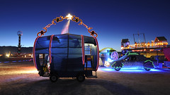 Burning Man 2010 - Metropolis: Barrel of Monkeys MutV (extramatic) Tags: man art fire desert playa burningman blackrockcity event flame burn brc metropolis dmv artcar zzz 2010 blackrockdesert mutantvehicle burningmanfestival bm10 extramatic departmentofmutantvehicles burningman2010