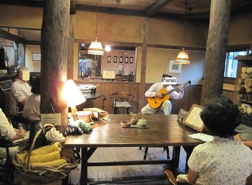 ソロ演奏/蓼科の喫茶「陶仙房」にて 2009年9月5日 by Poran111