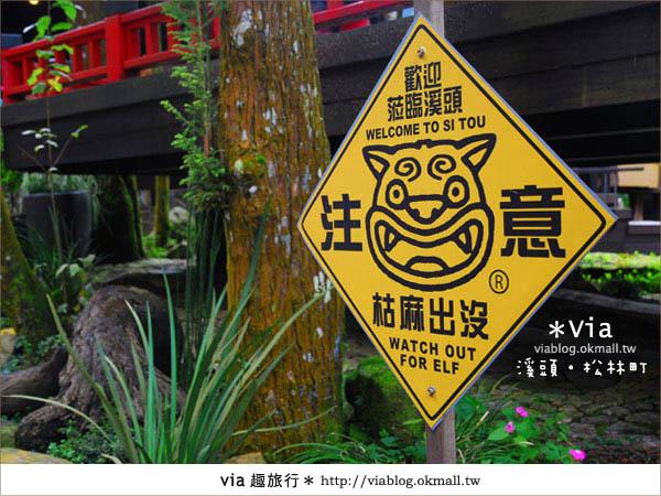 【南投】台灣,妖怪出沒?!來溪頭妖怪村-松林町抓妖吧!17
