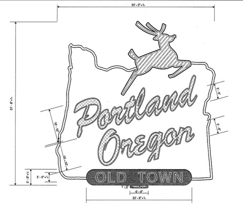 Made in Oregon sign's new message