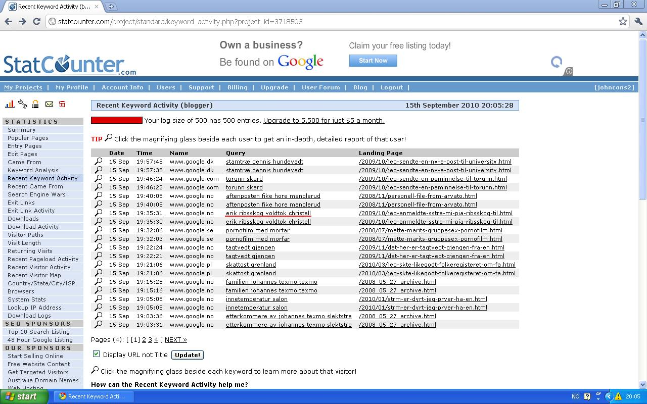 google erik ribsskog voldtok christell