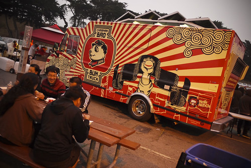 Chairman Bao Bun truck at Fort Mason, Off the Grid street food festival