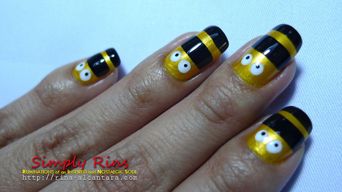 Nail Art Nailed by Bees 02
