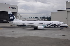 Alaska Airlines - Boeing 737-400 - N756AS - Seattle–Tacoma International Airport (SEA) - September 10, 2010 018 RT CRP (TVL1970) Tags: nikon nikond90 d90 nikongp1 gp1 geotagged nikkor18105mmvr 18105mmvr aviation airplane aircraft airlines airliners seattle–tacomainternationalairport seattletacomaairport seatacairport seatac seatacinternational sea ksea n756as alaskaairlines alaska alaskaairgroup oeiak aslaviation aslairlinesbelgium aslairlines boeing boeing737 boeing737400 737 b737 b734 737400 boeing7374q8 7374q8 boeing737specialfreighter 737specialfreighter boeing737400specialfreighter boeing737400sf 737400sf boeing7374q8sf 7374q8sf 737freighter 737sf 737f b737f b737sf b734sf cfminternational cfmi cfm56 cfm563c1 hangar hardstand