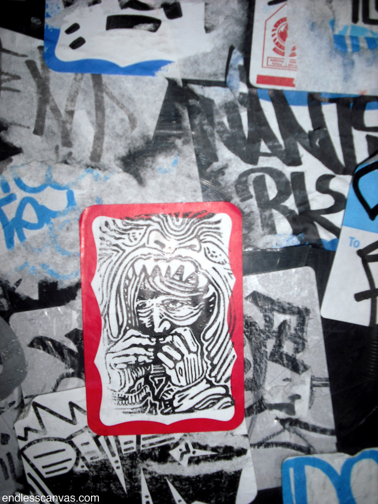 printed sticker - San Francisco, Ca