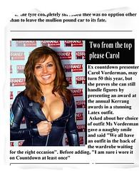 Carol Vorderman at Kerrang awards in latex (andy.latex) Tags: fetish carol celebrities vorderman atex